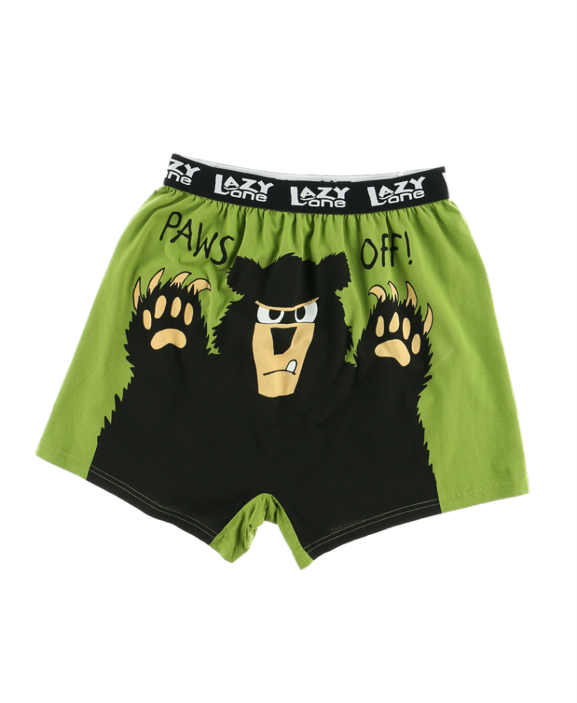 Paws Off - Men's Boxer Shorts - Lazy One®